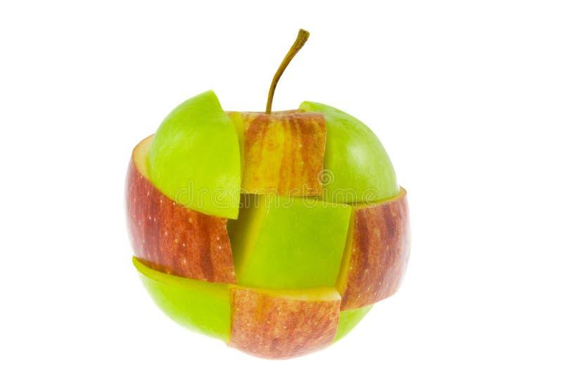 Manzana mezclada foto de archivo libre de regalías