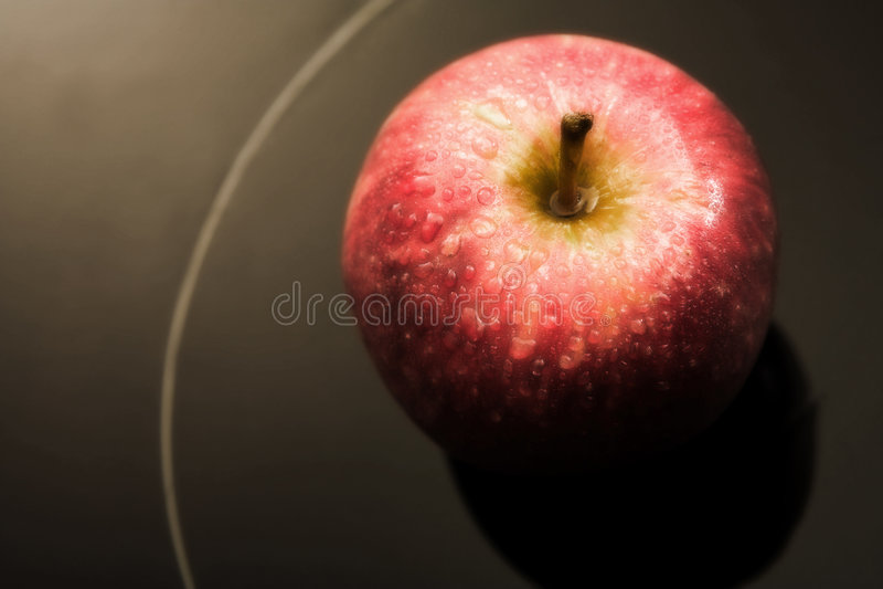 Manzana roja fresca fotos de archivo libres de regalías