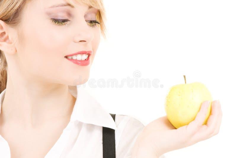 Download Manzana verde imagen de archivo. Imagen de feliz, nutrición - 41904881