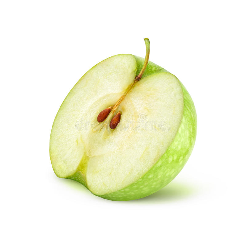 Download Manzana verde imagen de archivo. Imagen de sección, delicioso - 41910967