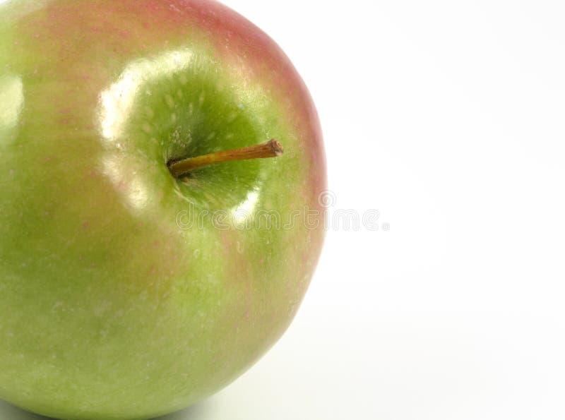 Manzana verde que aparece fotos de archivo libres de regalías