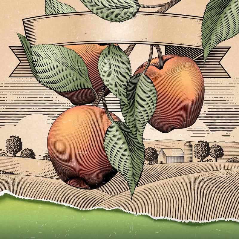 Manzanar retro libre illustration