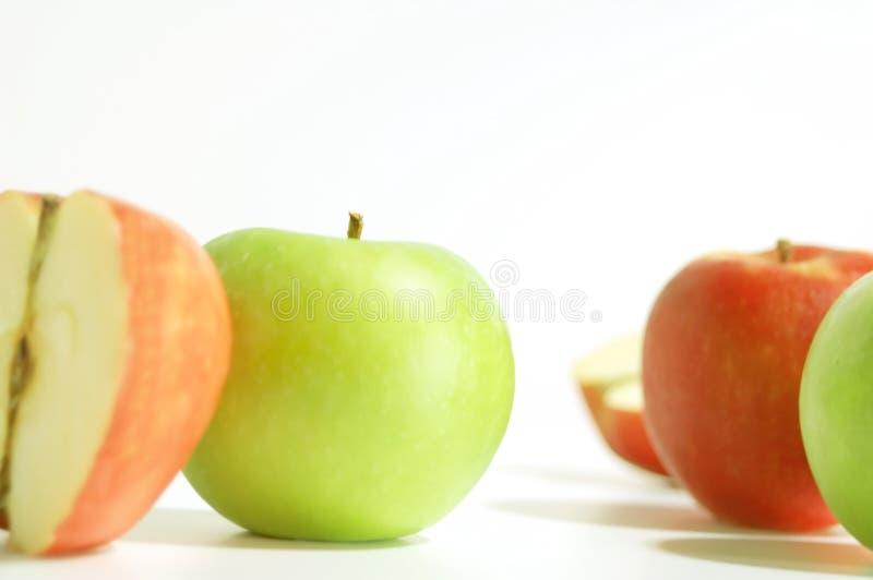 Download Manzanas imagen de archivo. Imagen de alimento, verde, rojo - 181187