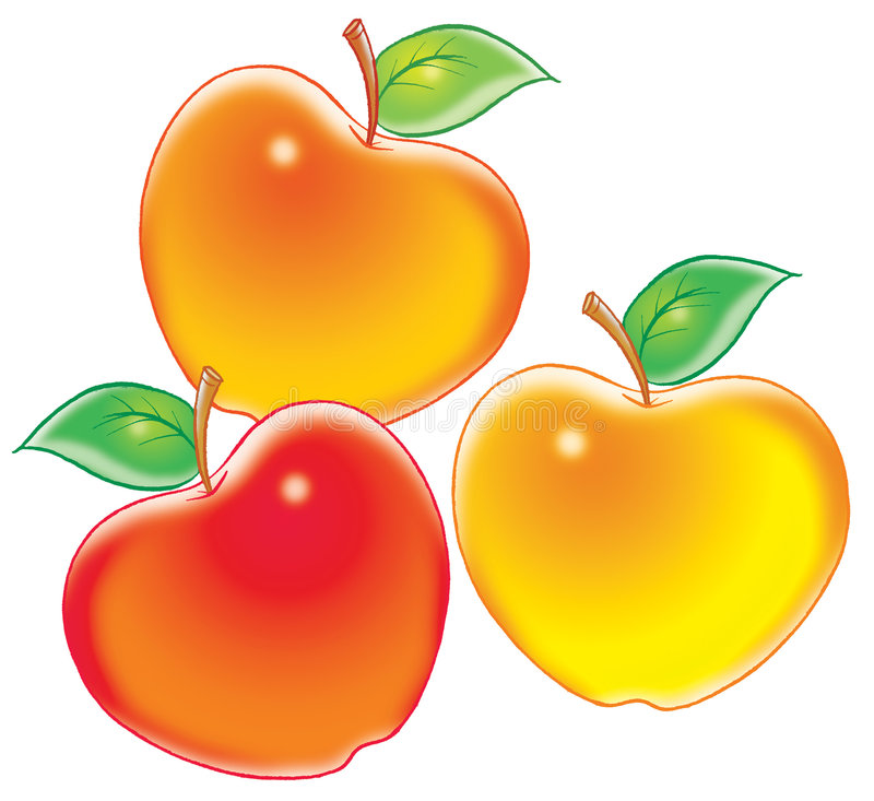 Manzanas libre illustration