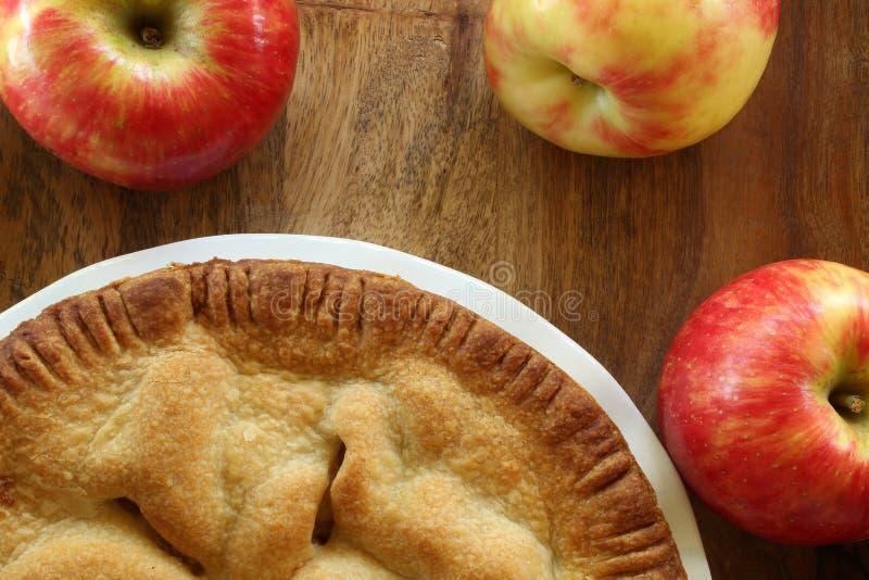 Manzanas de la empanada y del honeycrisp de Apple fotos de archivo libres de regalías