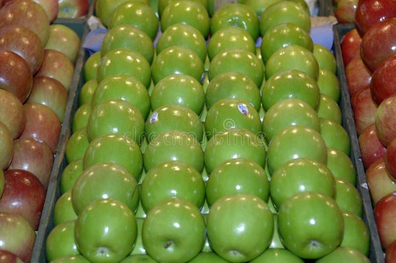 Manzanas del forjador de abuelita imagenes de archivo