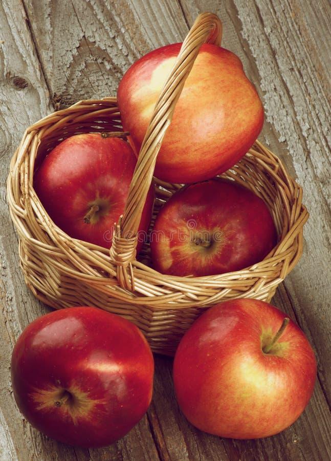Manzanas red delicious foto de archivo