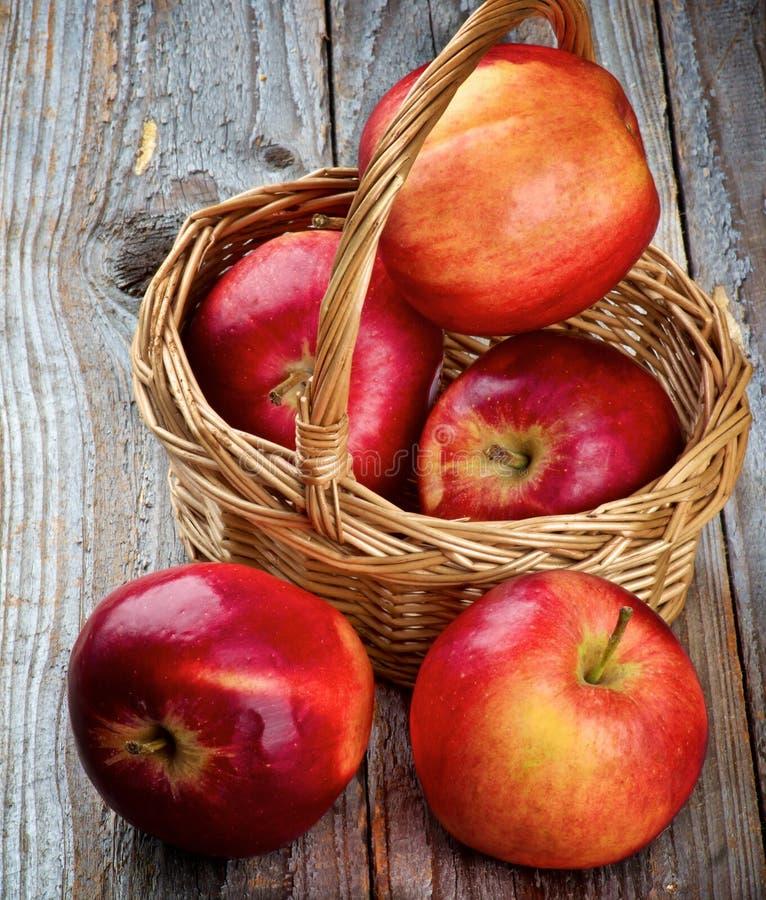 Manzanas red delicious foto de archivo libre de regalías