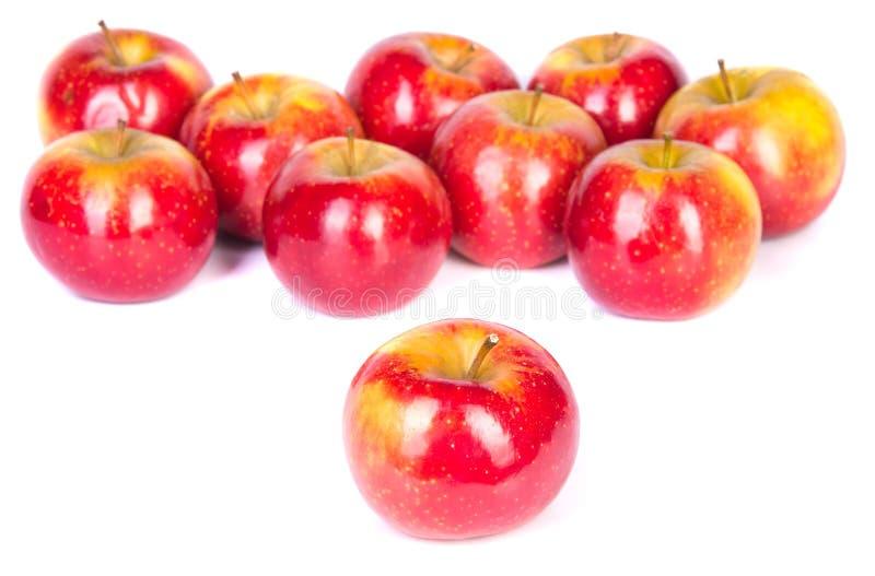 Download Manzanas rojas imagen de archivo. Imagen de fondo, jugoso - 41904521