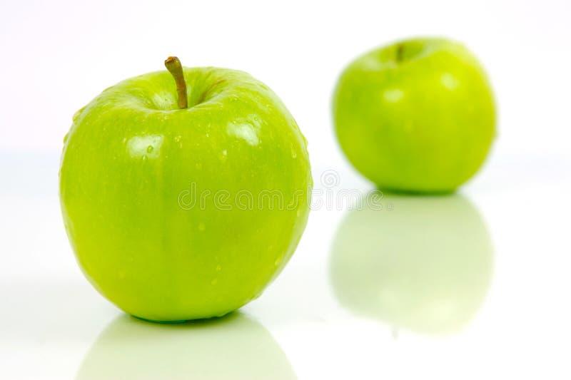 Manzanas verdes fotos de archivo libres de regalías