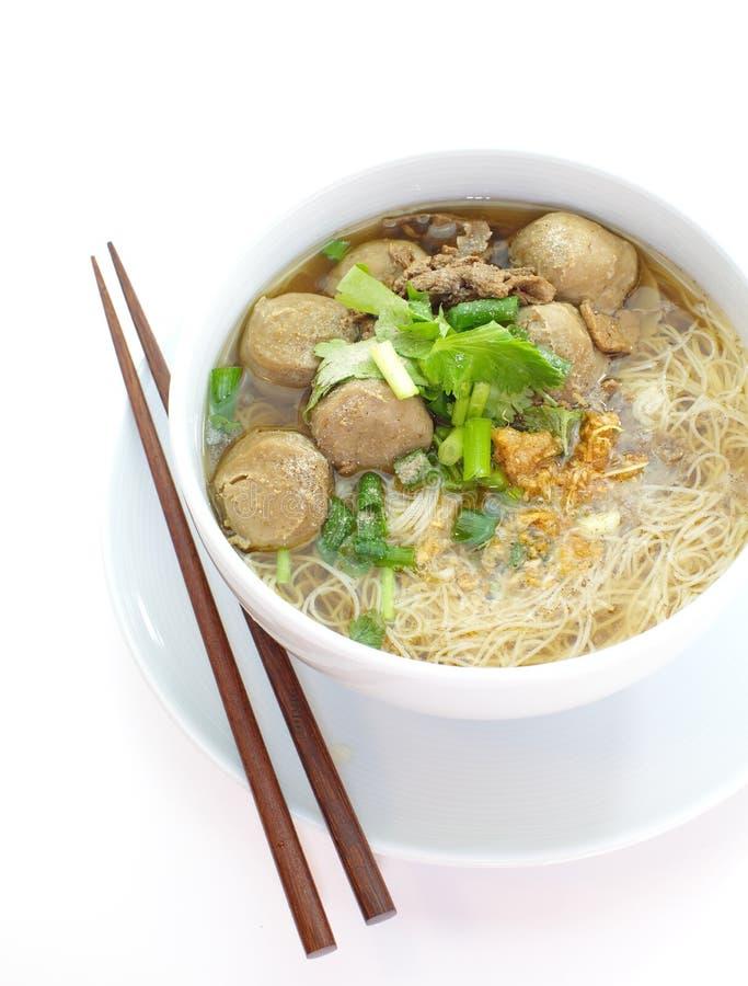 Manzo Stew Noodle Soup fotografia stock libera da diritti