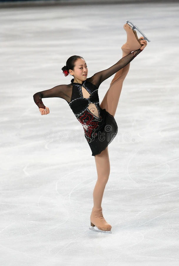 Free Mao ASADA (JPN) Short Program Royalty Free Stock Photos - 17234578