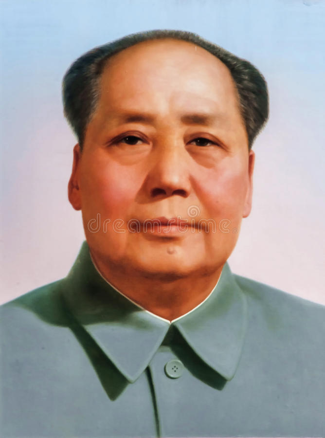 Mao Zedong images libres de droits