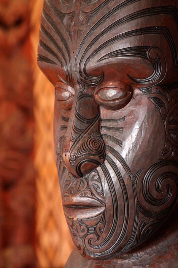 Maori τέχνη στοκ φωτογραφίες