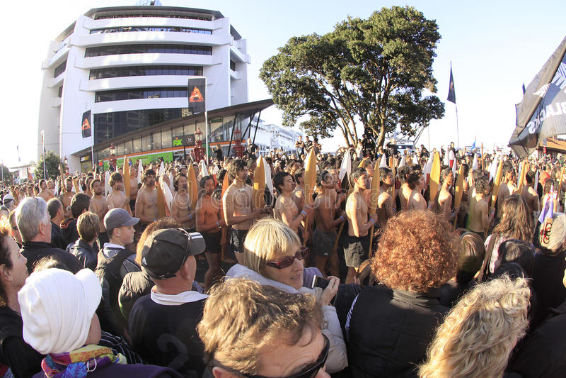 maori 2011 ståtar rwckrigare arkivbilder
