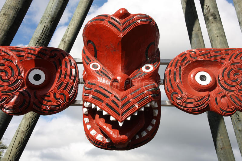 Maori art. royalty-vrije stock afbeeldingen