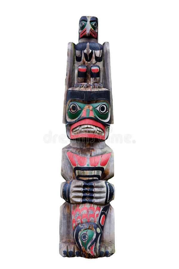 Maori carving royalty free stock image