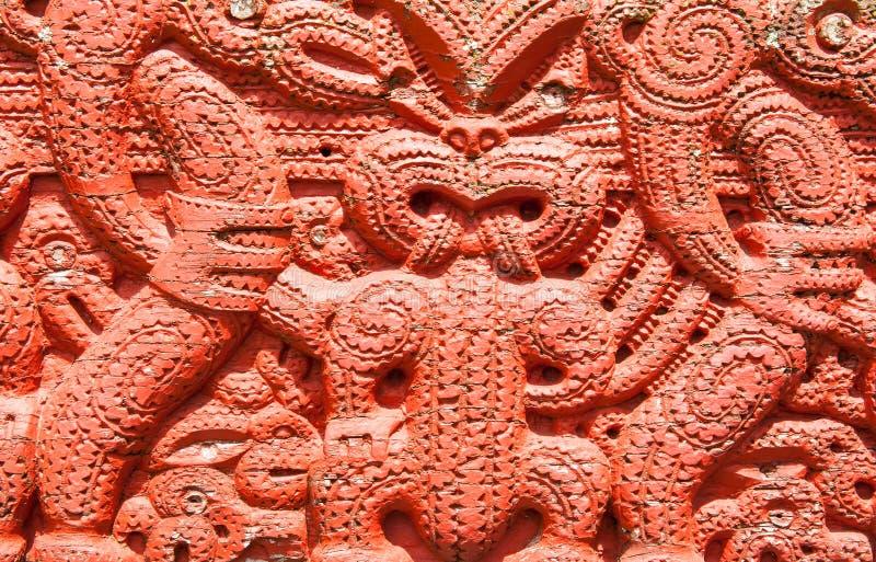 Maori Carving images libres de droits