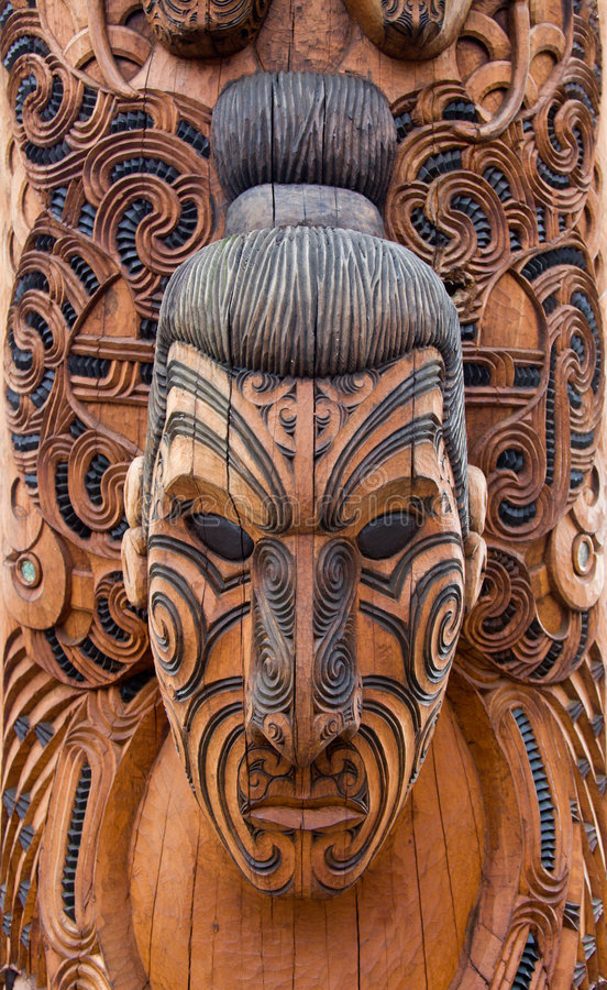 Free Maori Carving Stock Photos - 9195143