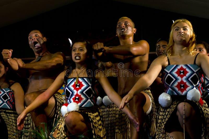 Maori Cultural Show photos libres de droits
