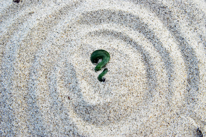 Download Maori Koru Fern Green Stone On Sand Stock Photo - Image of maori, zealand: 22743278