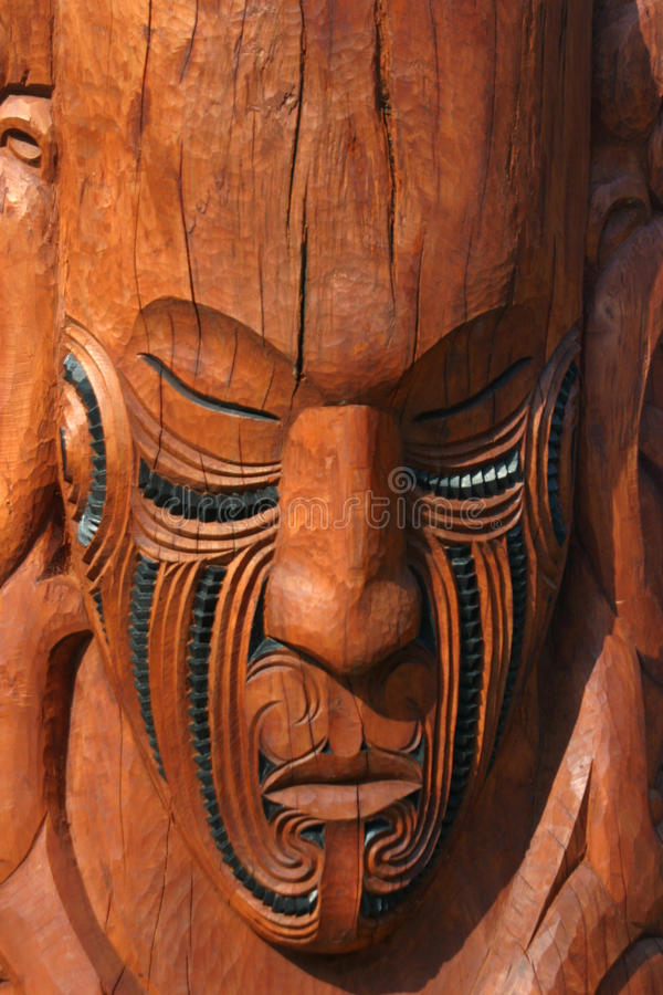 Maori Mask royalty free stock image