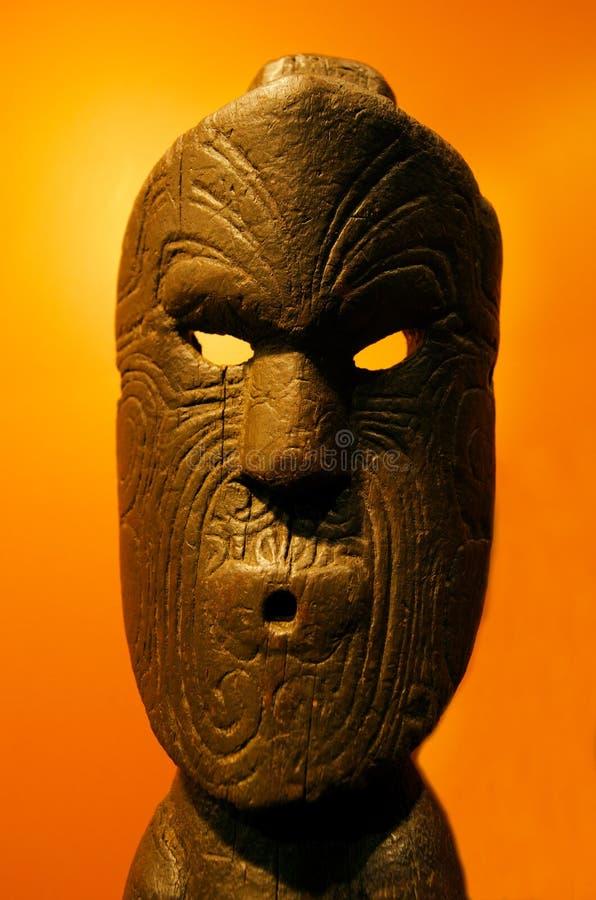 Maori Sculpture stockfoto