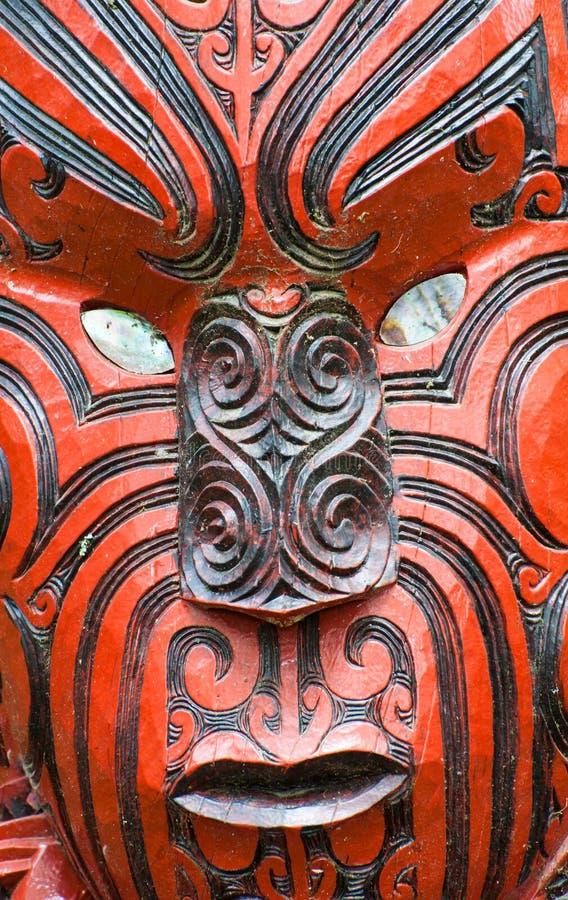 Maoryjski cyzelowanie fotografia royalty free