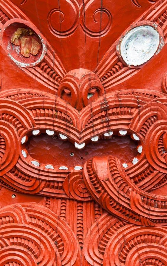Maoryjski cyzelowanie zdjęcia royalty free