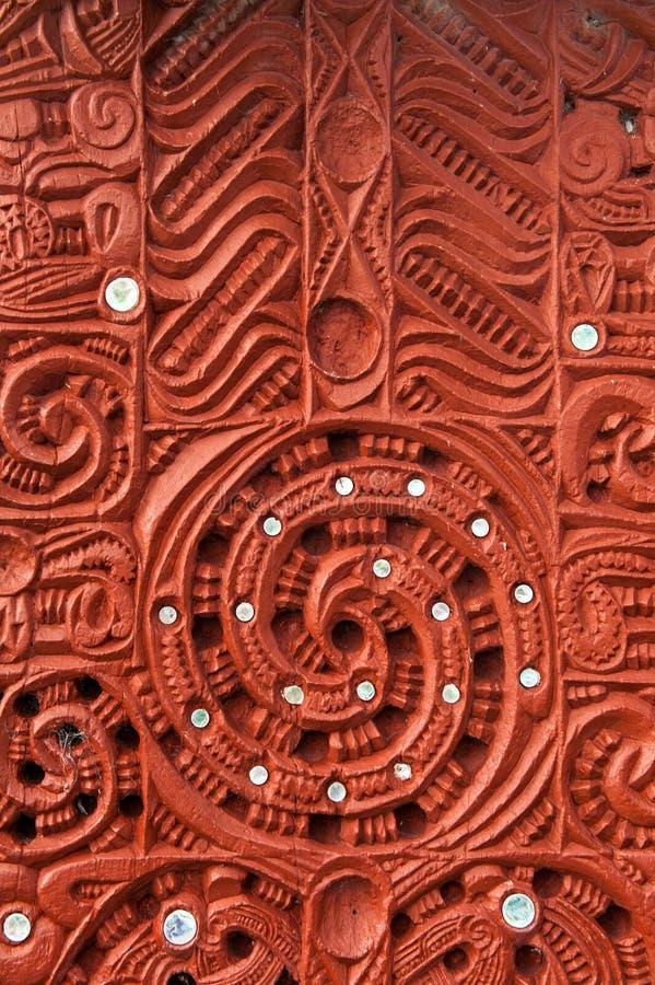 Maoryjski cyzelowanie obrazy royalty free