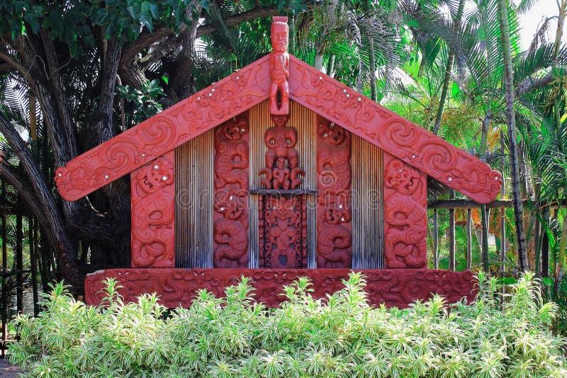 Maoryjski Pataka sklep spożywczy zdjęcia royalty free