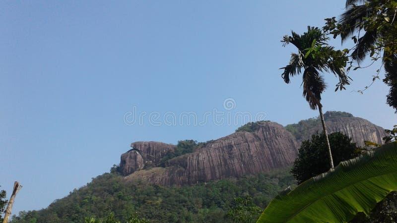 Maowntan i maniyangama av Sri Lanka Maniyangama arkivfoton