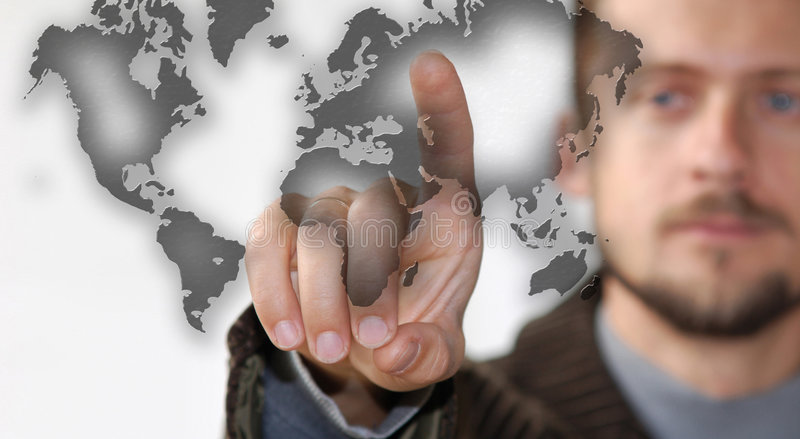 Map Royalty Free Stock Image