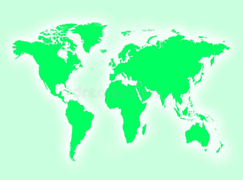 Download Map stock illustration. Illustration of countries, global - 8169593