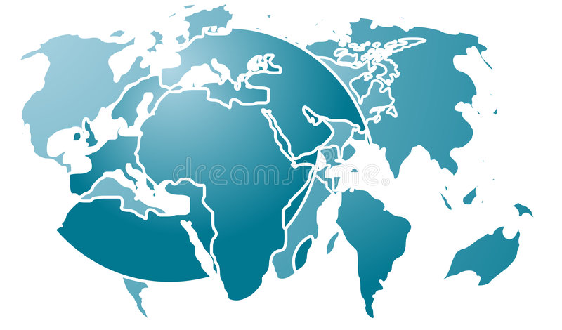 Map abstract royalty free stock photos