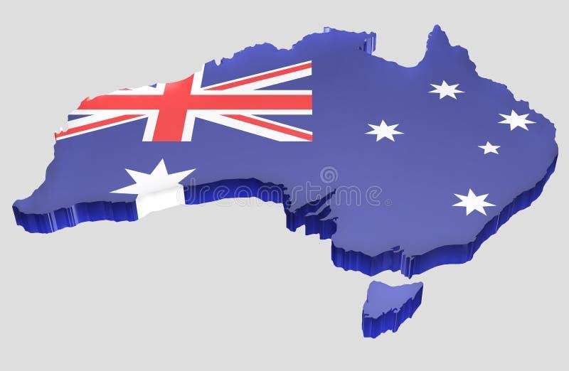 Map the Australia