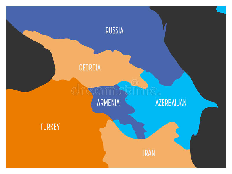 Map of caucasian region with states of georgia armenia azerbaijan download map of caucasian region with states of georgia armenia azerbaijan russia turkey gumiabroncs Images