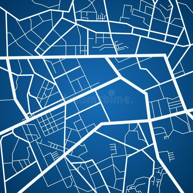 City map navigation stock illustration