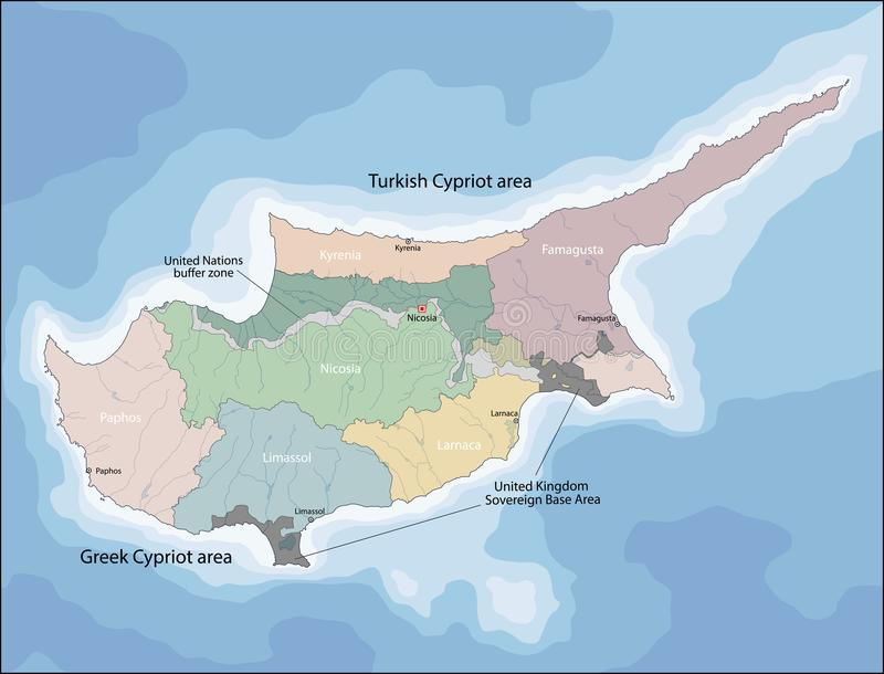 Map of cyprus stock vector illustration of kyrenia 100759153 download map of cyprus stock vector illustration of kyrenia 100759153 gumiabroncs Image collections