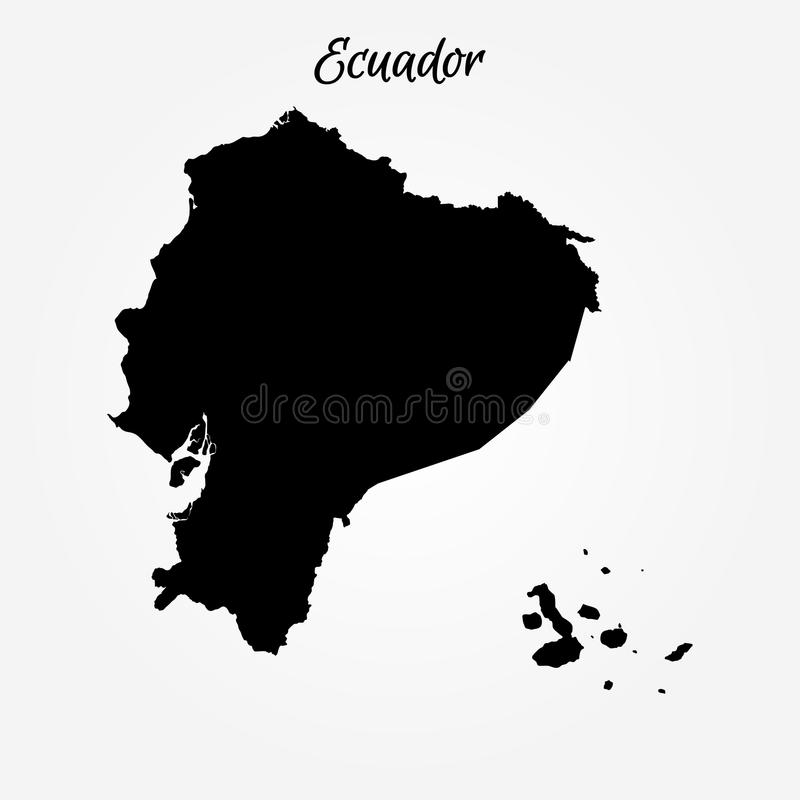 Map of ecuador stock illustration illustration of contour 109464859 download map of ecuador stock illustration illustration of contour 109464859 gumiabroncs Images