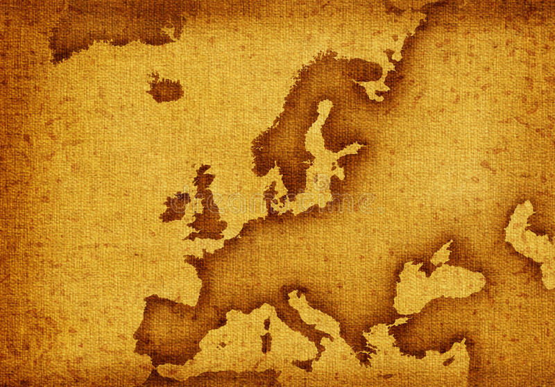Download Map of Europe stock illustration. Illustration of geography - 16295031