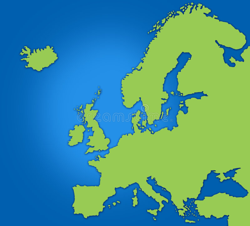 Download Map of Europe stock illustration. Image of euro, backdrop - 4250526