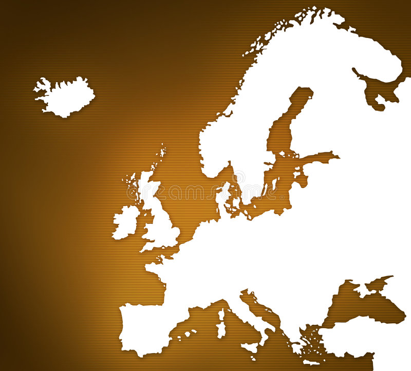 Download Map Of Europe Royalty Free Stock Photography - Image: 4250637