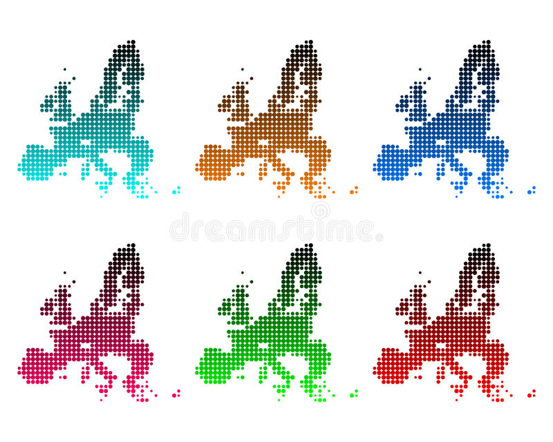 Download Map of European Union stock vector. Image of gradient - 25929499
