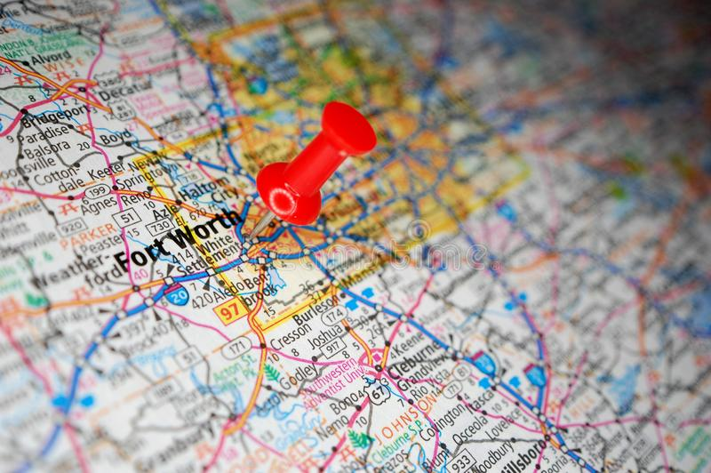 Fort Worth, Texas stock images