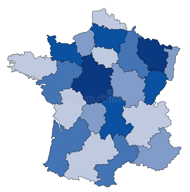 Download Map Of France Stock Photo - Image: 2318130