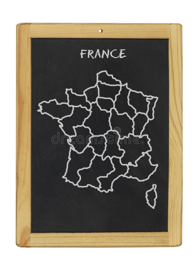 Download Map Of France Royalty Free Stock Image - Image: 25568066