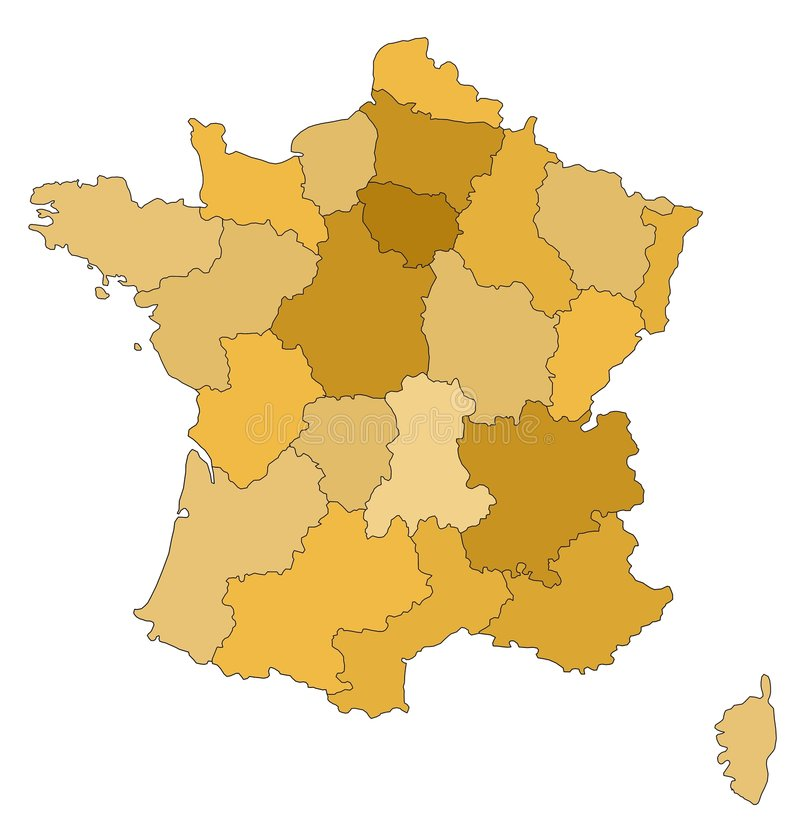 Download Map Of France Stock Photos - Image: 2973683