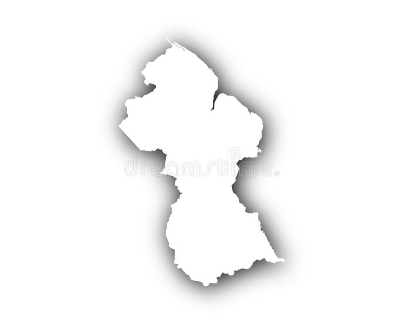 Map of guyana with shadow stock vector illustration of shadow download map of guyana with shadow stock vector illustration of shadow 90858411 sciox Images