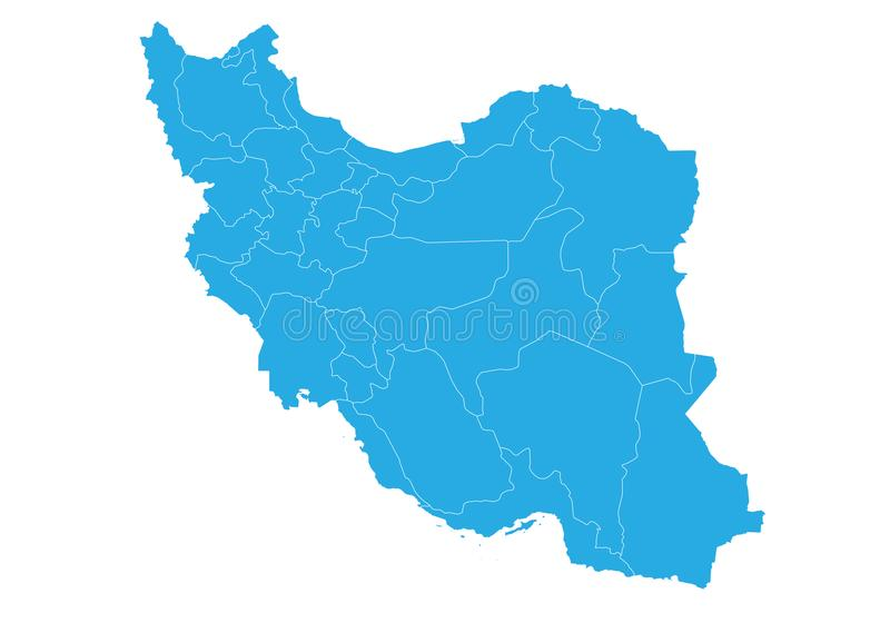 Map of iran high detailed vector map iran stock vector download map of iran high detailed vector map iran stock vector illustration gumiabroncs Image collections